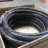 Tubo flessibile di ceramica resistente all'uso nero della gomma del rivestimento