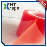 bande double face d'animal familier rouge de grande viscosité épais de film de 0.2 millimètre