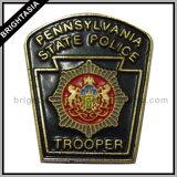 Nypd Metal Police Badge pour nous emblème (BYH-10016)