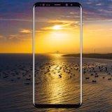 강화 유리 Samsung 은하 S8를 위한 전면 보도 3D에 의하여 구부려지는 높은 정의 매우 명확한 필름 반대로 거품 일생 보충 스크린 덮개