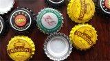 Máquina de rellenar de la botella de cristal de corona de la cerveza automática del casquillo