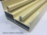 Profil en aluminium personnalisé d'extrusion de 6063 alliages avec le profil facultatif de couleurs