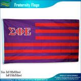 Alfa bandierina 3 ' X 5 ' della lettera di SAE dell'epsilon di sigma (B-NF05F03101)