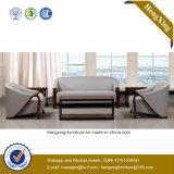 Sofá moderno de la oficina del sofá del cuero genuino de los muebles de oficinas (HX-CF026)