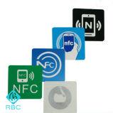 Etiquetas al por mayor de NFC Etiqueta engomada adhesiva de la etiqueta de Ntag213