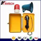 Telefono di emergenza del microtelefono del telefono Emergency Knsp-03 di SOS