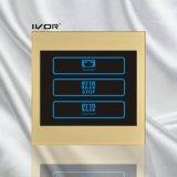 Interruptor de la cortina de las 2 pistas de esquema de acrílico de bastidor (CT100-AC2)