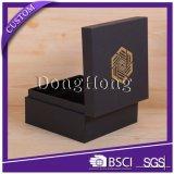 Caja de papel del regalo del reloj de la nueva llegada de lujo impresa impresa