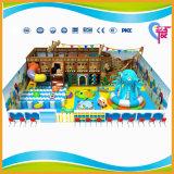 Спортивная площадка малышей сейфа CE крытая с скольжением пробки (A-15219)
