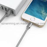 형식 나일론 땋는 8 Pin 점화 USB 케이블 Mfi에 의하여 증명되는 Sync 비용을 부과 데이터 케이블