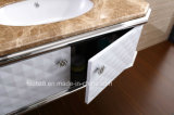 Vanidad moderna y elegante 077 del cuarto de baño del acero inoxidable