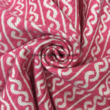 La spirale designa il tessuto Greige pronto delle lane del jacquard