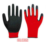 13G Nylon Latex Palm Coating Glove