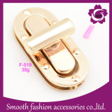 Annata del hardware degli accessori della borsa della serratura di girata del sacchetto del metallo di modo di adattamento