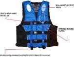 Veste de vida certificada Ce dos esportes de água da espuma