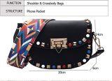 De Handtas van het Leer van Pu met de decoratieVrouwen van de Klinknagel Dame Shoulder Handbag 2018 Nice Ontwerp met de Handtas Van uitstekende kwaliteit (WDL0524)