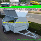 A fábrica fez caixa 6X4/gaiola Trailer (TC0084)