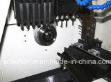 Tipo suiza de alta velocidad de precisión Torno automático