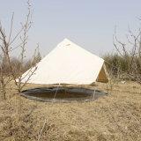 地上シートでファスナーを締められるを用いる5mの砂岩鐘テント