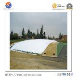 Белый и черный устойчивый к ультрафиолетовому излучению сельскохозяйственных пластмассовую крышку на силос