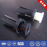 주문을 받아서 만들어진 Mould 또는 Machining Black/White Plastic Rivet/Screw/Nut (SWCPU-P-N064)