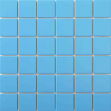 Blaue keramische Mosaik-Fliesen für Swimmingpool