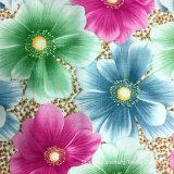 Nouveau design-17 : polyester Tissu d'impression, transfert de chaleur, utilisé pour les vêtements et textiles (bedsheet d'accueil)