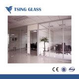 Plano temperado e vidro curvo com cor clara