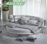 Cy002 круглой формы роскошные кровати за круглым столом