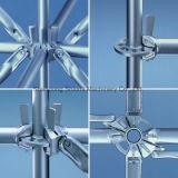 Construção de andaimes Ringlock galvanizado para venda a China Factory