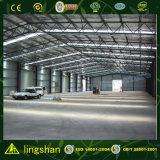 Material de construcción baratos Fábrica de diseño de construcción metálica derramada