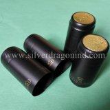 Capsules professionnelles de rétrécissement de PVC de coutume pour le cachetage de bouteille de vin
