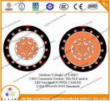 220 livello 100% dell'isolamento del cavo di mil TR-XLPE 15 chilovolt Urd con il certificato UL1072