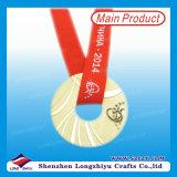 Médaille de la réunion de natation de haute qualité