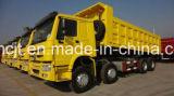 Caminhão de Tipper de Sinotruk HOWO 8X4 com o 30-40 que carregam