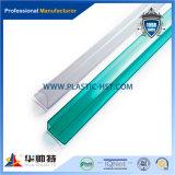 Populaire Hot Sale profil en polycarbonate transparent