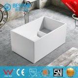 Banheira de acrílico quadrado com assento para banheiro pequeno Bt-Y2582