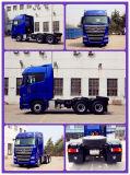 Foton 6X4 Traktor-Kopf der Schleppen-Kapazitäts-40ton für heißen Verkauf