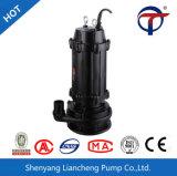 Bomba de esgoto submersíveis fácil de usar e tubos de entupimento