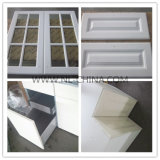 Плоская мебель кухни упаковки с дверями PVC