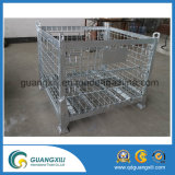 Galvanizado Wire Storage Box Iron Hanging para grande escala