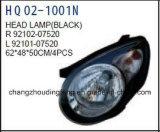 KIA Picanto/아침 2010년 동안 KIA 예비 품목 맨 위 램프. OEM: 92102-07520/92101-07520