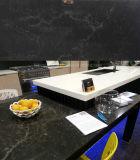 Pierre artificielle noire de quartz de la Chine pour la cuisine