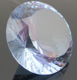 K9 Crystal Paperweight, Crystal Diamond, Crystal Diamond