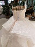 A Esfera Aolanes Beca ilusão de manga com vestido de noiva 111318