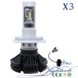 lampadina dell'automobile di sorgente 50W LED dei fari dell'automobile LED di 6000lm H1 con il LED che guida faro ed il faro del LED dalla fabbrica in Cina (H11 H4 H7 9005 9006)