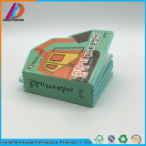 El libro de niños de la cartulina del colorante de la impresión surge el libro/surge la impresión del libro
