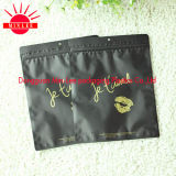 2016 Customized Printed Cloth Socks Ziplock Plastic Resealable Bags for Sexy Underwear