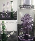 Hb-K41 Oil Rig tuyau eau en verre Grace de verre avec Spiral Pipe en verre PERC 2 tailles