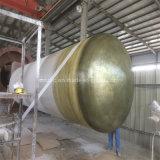 GRP/FRPのフィラメントの容器型タンクガラス繊維の巻上げ機械